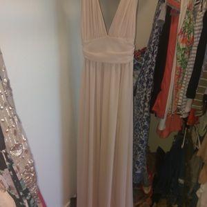 Lulus nude color dress